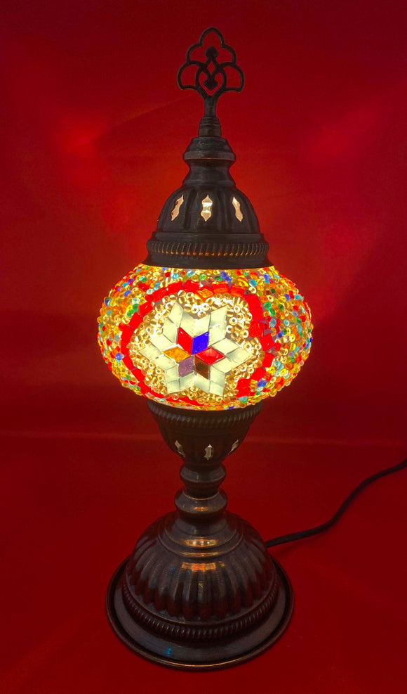 Handcrafted Mosaic Tiffany Table Lamp TMLN2-021