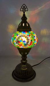 Handcrafted Mosaic Tiffany Table Lamp TMLN2-025