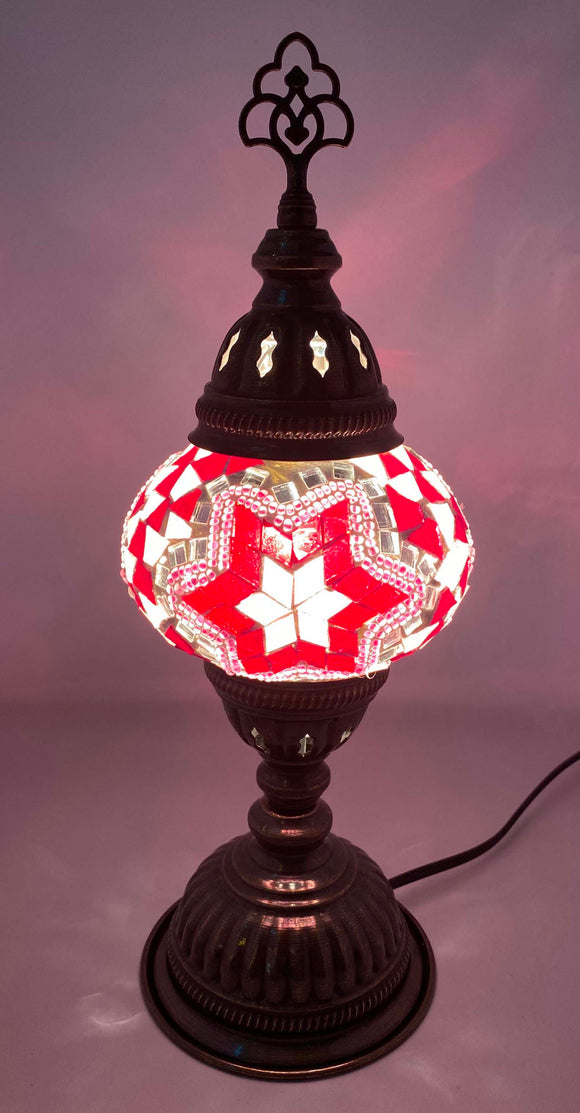 Handcrafted Mosaic Tiffany Table Lamp TMLN2-027