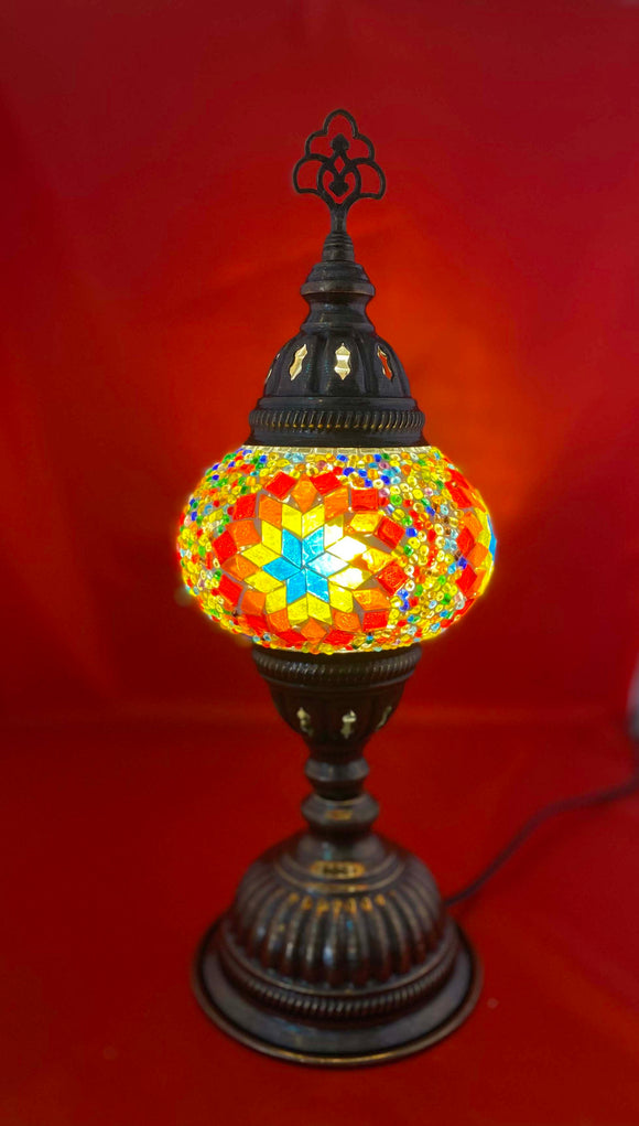 Handcrafted Mosaic Tiffany Table Lamp TMLN2-003