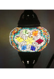 Handcrafted Mosaic Tiffany Curves/ Swan Table Lamp  072