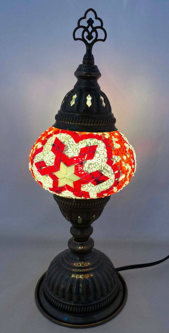 Handcrafted Mosaic Tiffany Table Lamp TMLN2-047