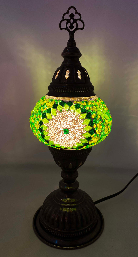 Handcrafted Mosaic Tiffany Table Lamp TMLN2-049