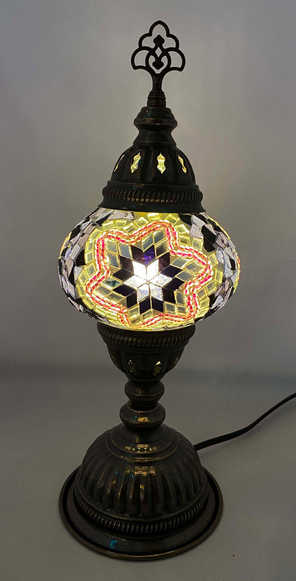 Handcrafted Mosaic Tiffany Table Lamp TMLN2-052