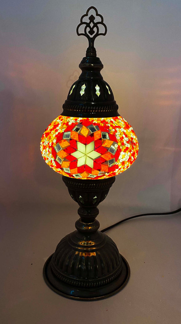 Handcrafted Mosaic Tiffany Table Lamp TMLN2-077