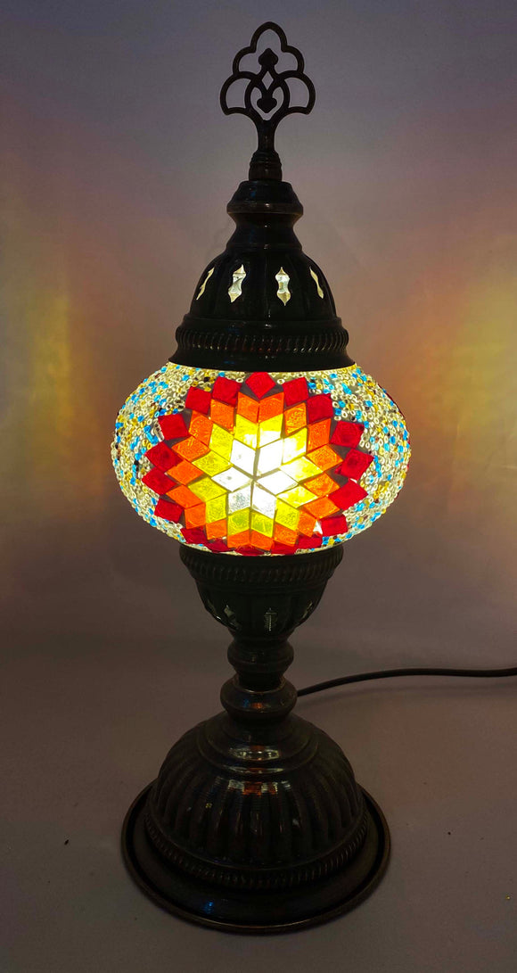Handcrafted Mosaic Tiffany Table Lamp TMLN2-078