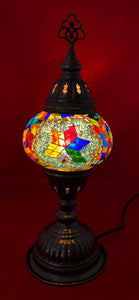 Handcrafted Mosaic Tiffany Table Lamp TMLN2-007