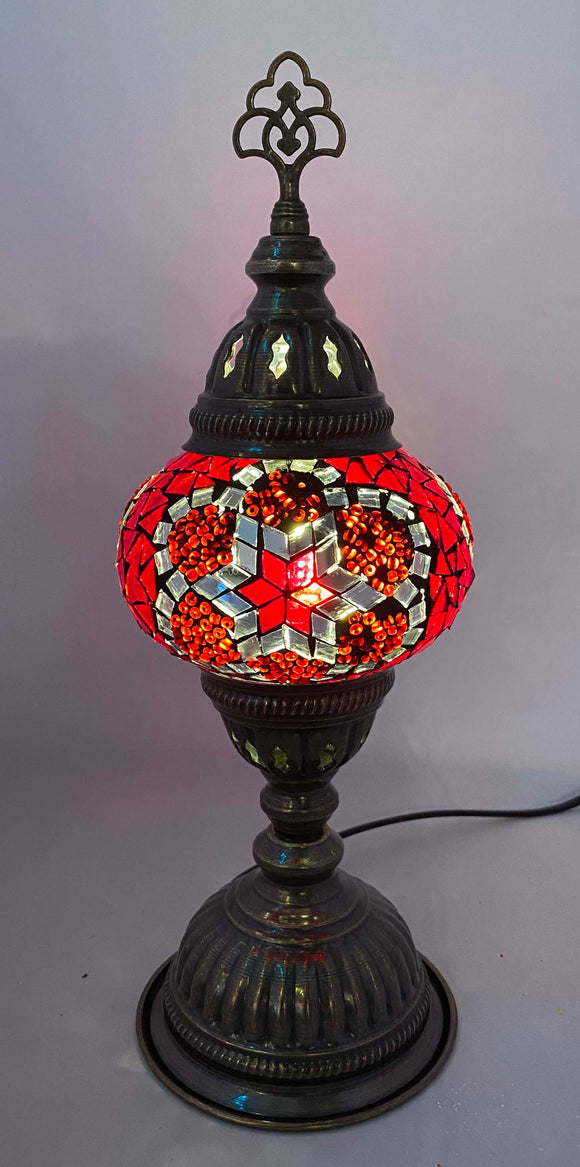 Handcrafted Mosaic Tiffany Table Lamp TMLN2-080