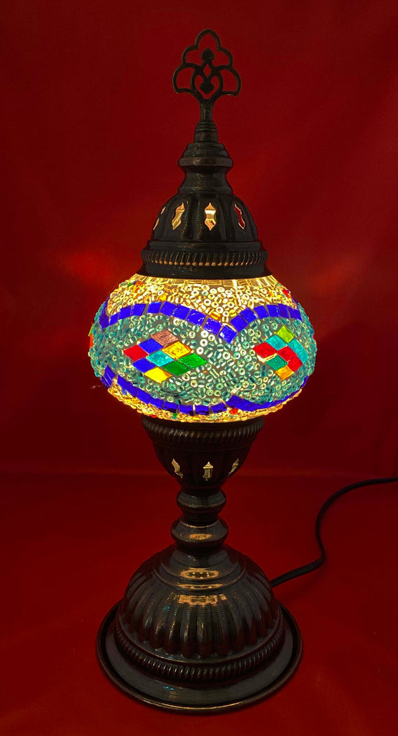 Handcrafted Mosaic Tiffany Table Lamp TMLN2-008