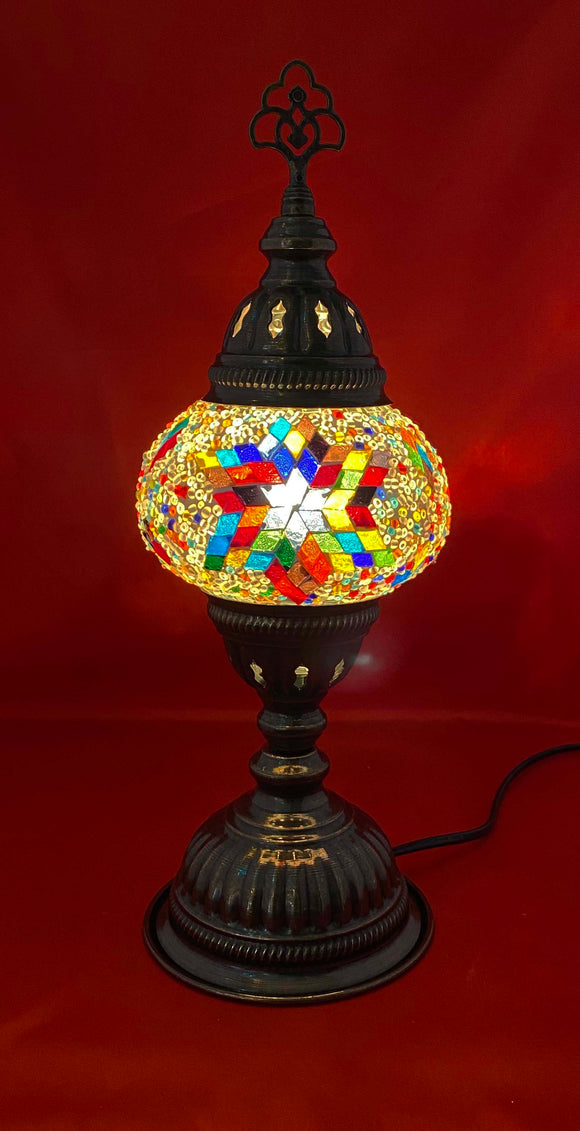 Handcrafted Mosaic Tiffany Table Lamp TMLN2-009