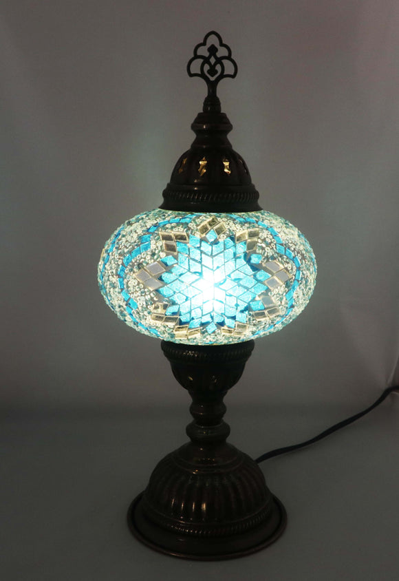 Handcrafted Mosaic Tiffany Table Lamp TMLN3-010