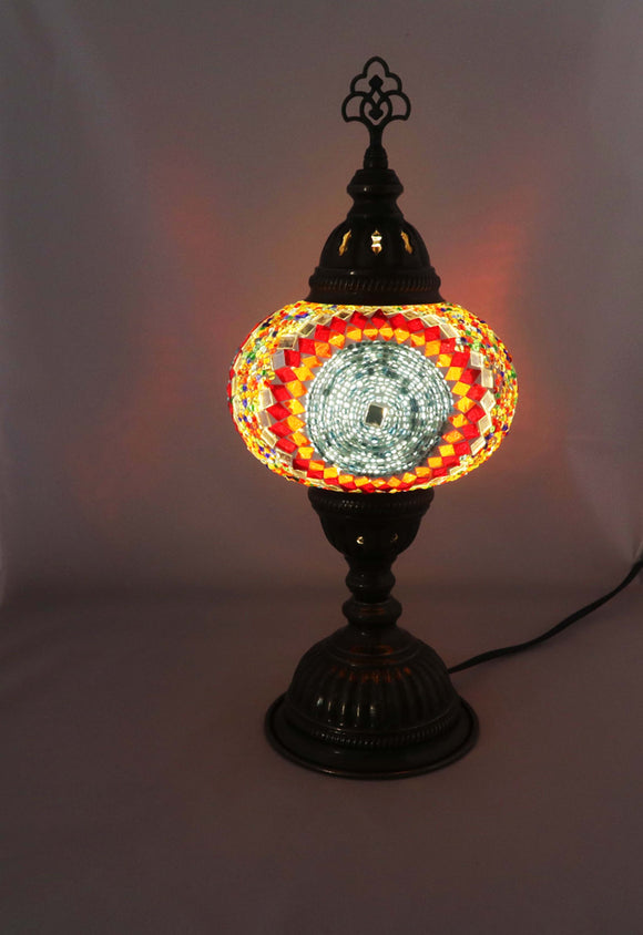 Handcrafted Mosaic Tiffany Table Lamp TMLN3-011