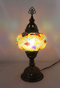 Handcrafted Mosaic Tiffany Table Lamp TMLN3-012