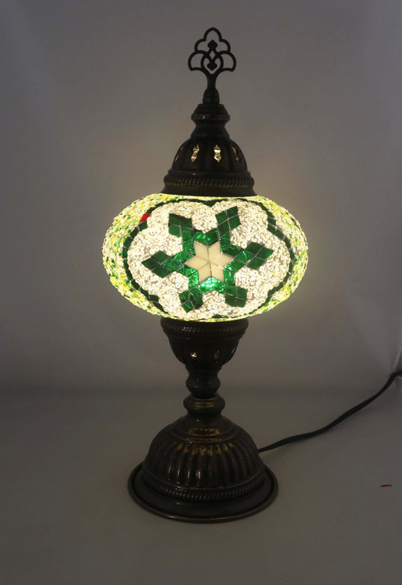 Handcrafted Mosaic Tiffany Table Lamp TMLN3-013