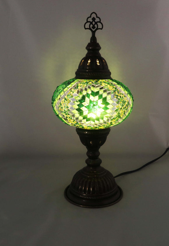 Handcrafted Mosaic Tiffany Table Lamp TMLN3-014