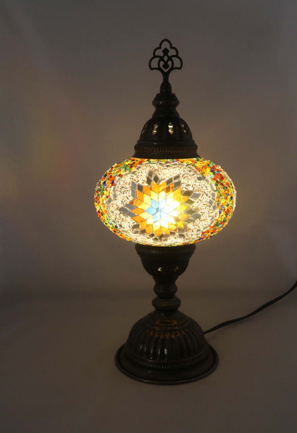 Handcrafted Mosaic Tiffany Table Lamp TMLN3-015