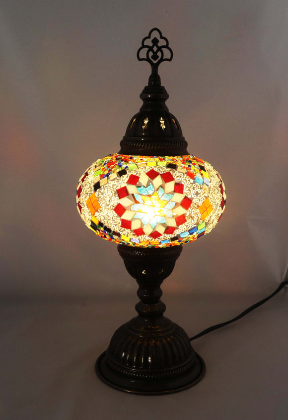 Handcrafted Mosaic Tiffany Table Lamp TMLN3-016