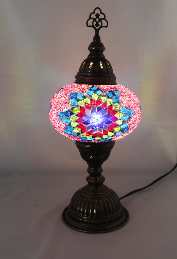 Handcrafted Mosaic Tiffany Table Lamp TMLN3-017