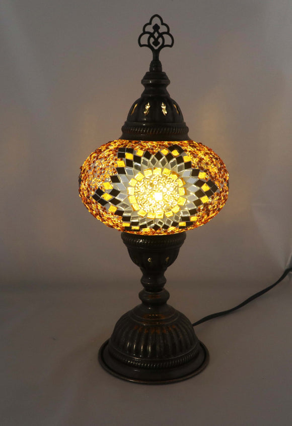 Handcrafted Mosaic Tiffany Table Lamp TMLN3-018
