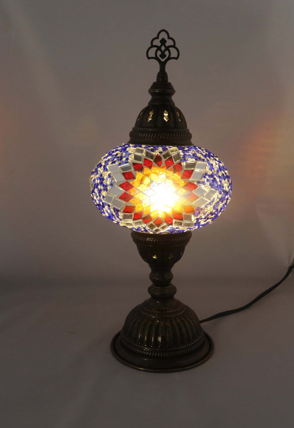 Handcrafted Mosaic Tiffany Table Lamp TMLN3-019