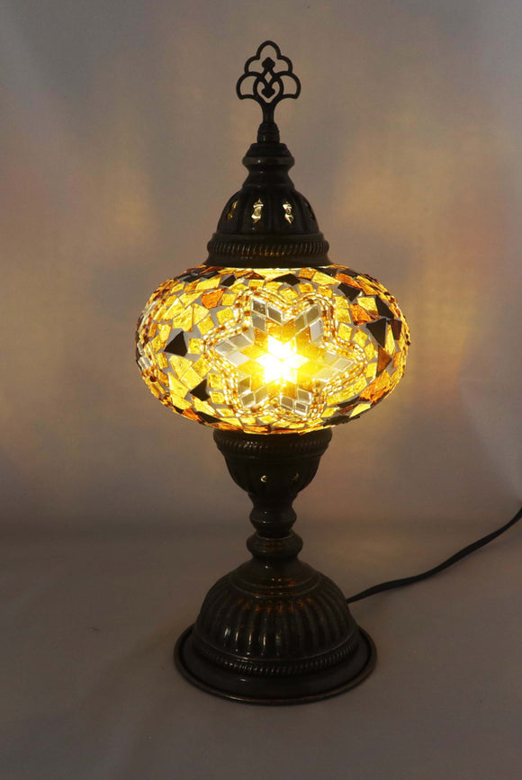 Handcrafted Mosaic Tiffany Table Lamp TMLN3-020