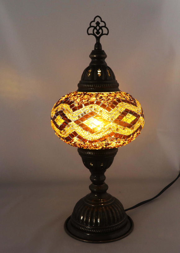 Handcrafted Mosaic Tiffany Table Lamp TMLN3-022