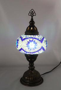 Handcrafted Mosaic Tiffany Table Lamp TMLN3-023