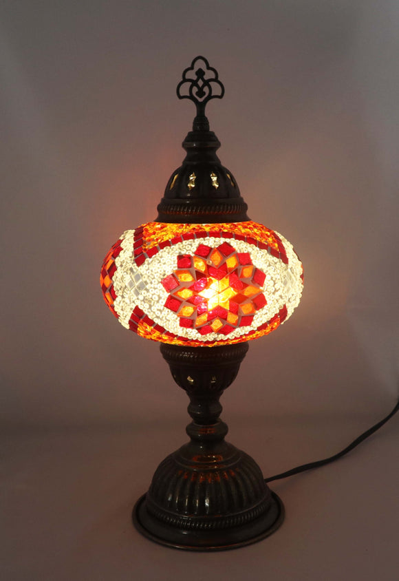 Handcrafted Mosaic Tiffany Table Lamp TMLN3-024