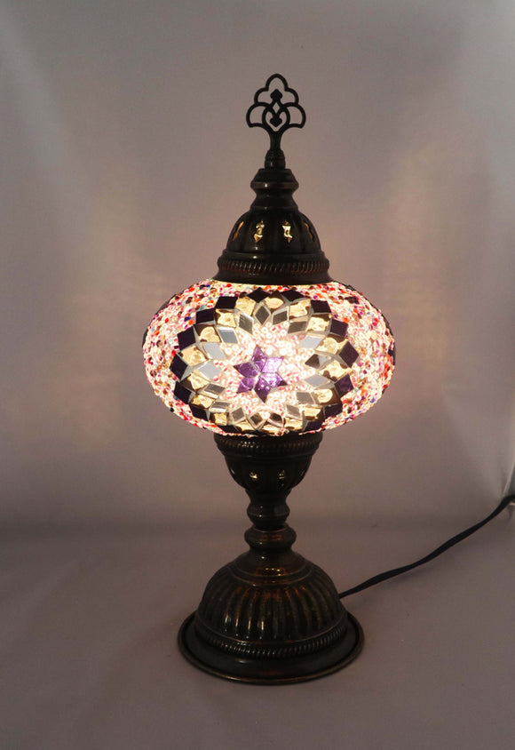 Handcrafted Mosaic Tiffany Table Lamp TMLN3-025
