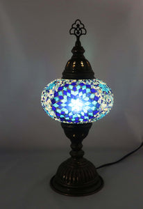 Handcrafted Mosaic Tiffany Table Lamp TMLN3-026