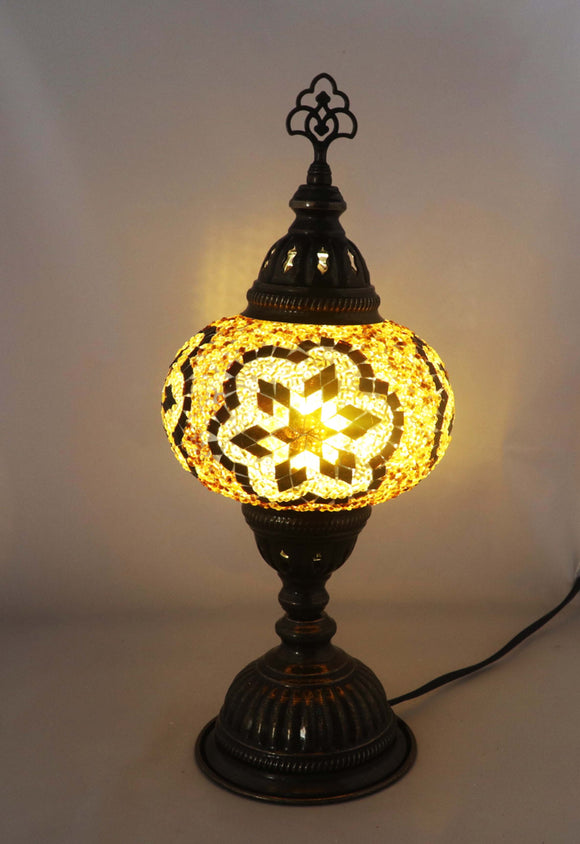 Handcrafted Mosaic Tiffany Table Lamp TMLN3-028