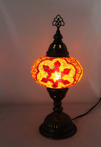 Handcrafted Mosaic Tiffany Table Lamp TMLN3-008