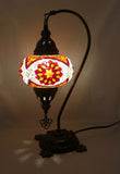 Mosaic Tiffany Curve Table Lamps No 3 Glass 016