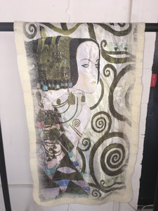 Felt Large Scarves Expectation (Klimt)