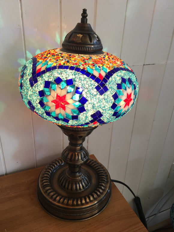 Mosaic Tiffany Table Lamps No 5 Glass