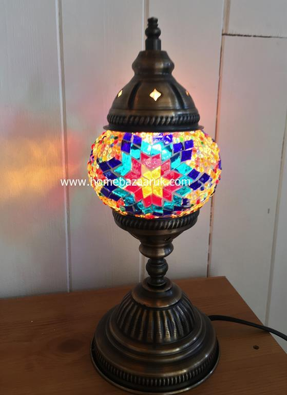 Handcrafted Mosaic Tiffany Table Lamp No 1 TSL-0002