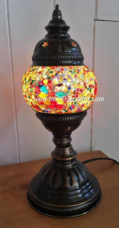 Handcrafted Mosaic Tiffany Table Lamp No 1 TSL-0003