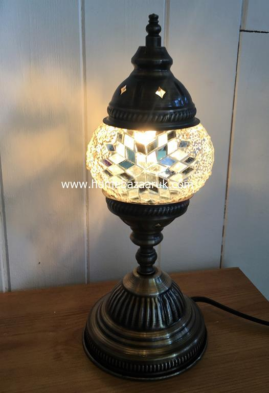 Handcrafted Mosaic Tiffany Table Lamp No 1 TSL-0004