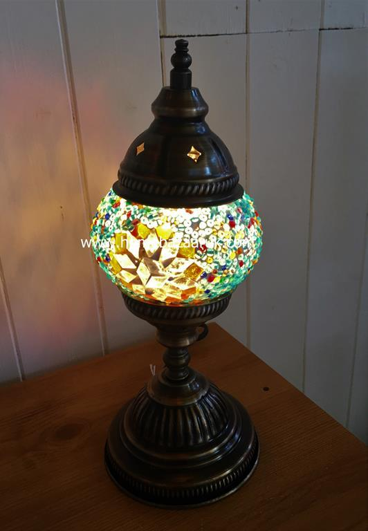 Handcrafted Mosaic Tiffany Table Lamp No 1 TSL-0005