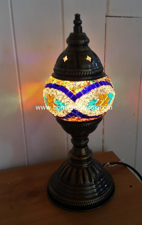 Handcrafted Mosaic Tiffany Table Lamp No 1 TSL-0006