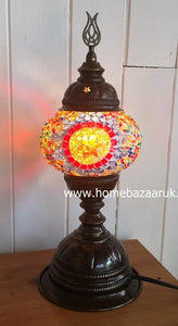 Handcrafted Mosaic Tiffany Table Lamp No 1 TSL-0007