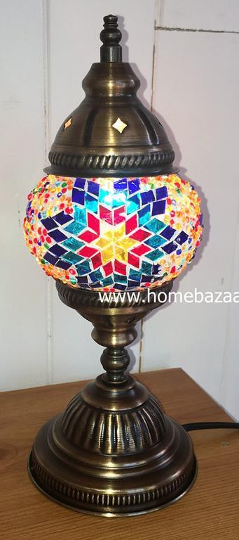 Handcrafted Mosaic Tiffany Table Lamp No 1 TSL-0008
