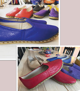 Handmade Shoes Red