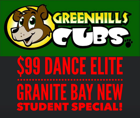 Greenhills Elementary New Student Special