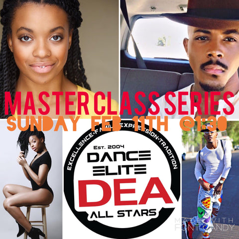 Master Classes w/Robert Green (Hip Hop) & Brittany Parks (Tap) Jr/Sr/Adult Advanced Level