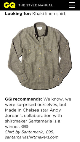 Santamaria Press GQ App