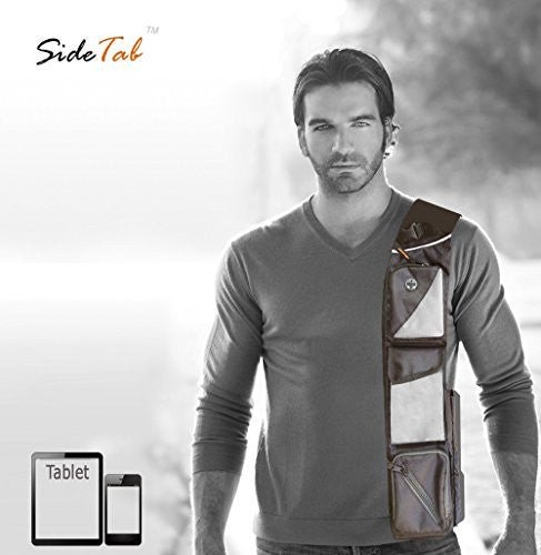 SideTab Tablet Personal Everyday Carry All - Tablet, mobile, wallet, glasses, bluetooth, keys, passport, tickets, check book, business cards, receipts and many more. Carry one, Carry All!