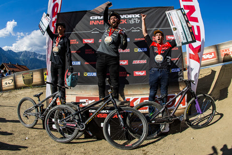 Diego Stompin' it at Crankworx Innsbruck!