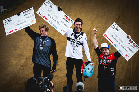 Diego Caverzasi's 3rd place run at Crankworx Rotorua-Video