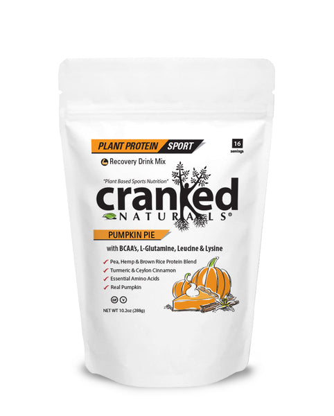 Pumpkin Pie Plant Protein with BCAA/L-Glutamine